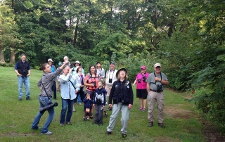 Birders at Daubenspeck Community Nature Park