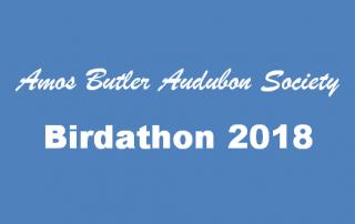 ABAS Birdathon 2018